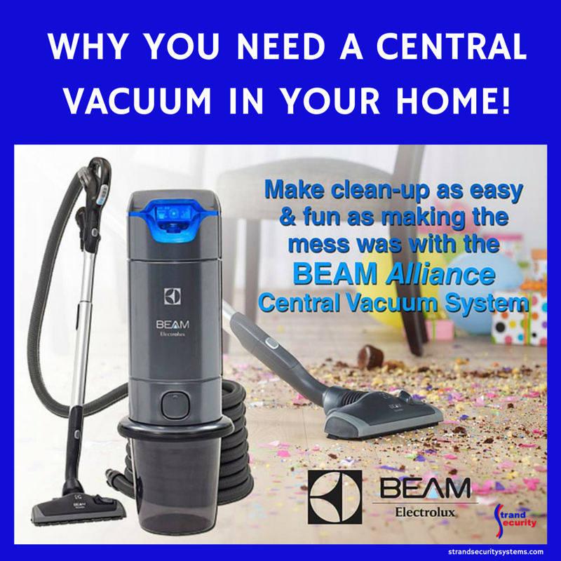 Why you need a central vacuum in your home