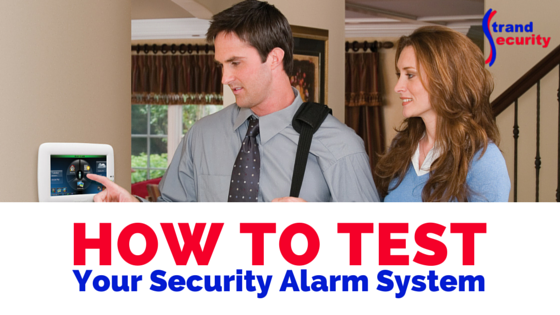 How To Test Your Security Alarm System