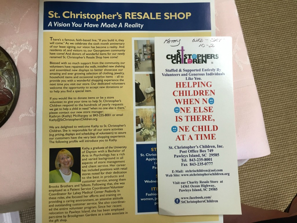 Get to know St. Christopher's Children's of Pawleys Island; helping kids in Georgetown County