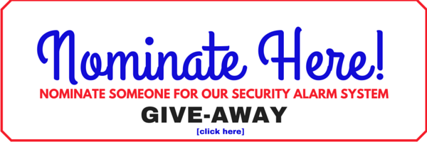 security alarm system giveaway myrtle beach