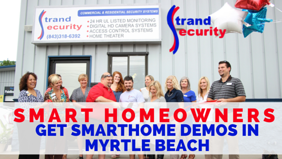 Smart Homeowners get SmartHome Demos in Myrtle Beach