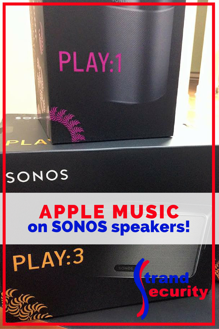 Apple Music on SONOS speakers - COme