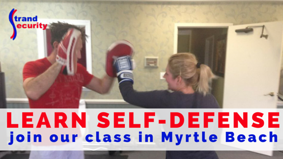 Learn self-defense in Myrtle Beach and keep yourself and your loved ones safe!