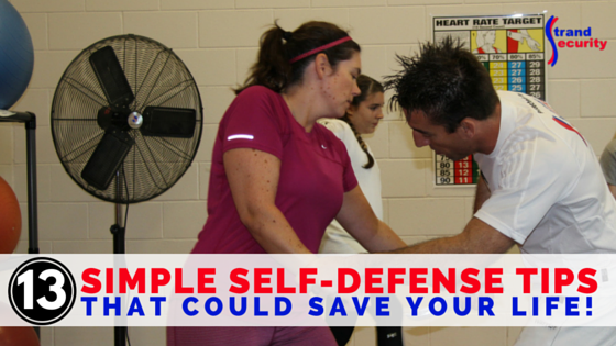 13 simple self defense moves that could save your life