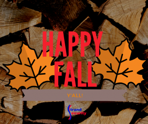 Happy Fall - Tak e the time to check your battries and replace the once that need replacing!