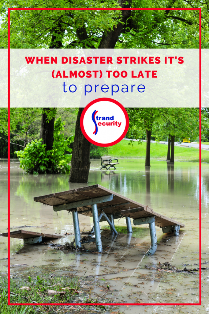 When disaster strikes you want to be prepared. Get started now and prepare for the next tropical storm, flood or hurricane to come your way!