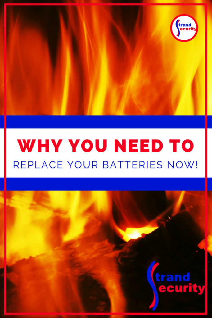 Why You Need To rplace your smoke detector and carbon monoxide batteries now