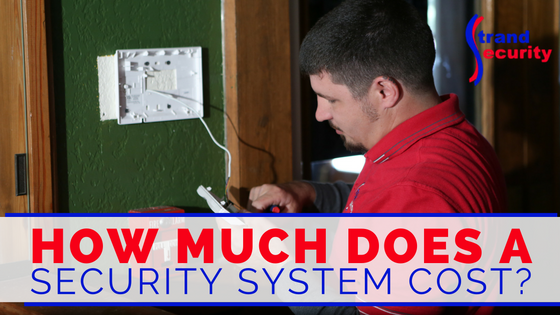 How Much Does A Security Alarm System Cost?