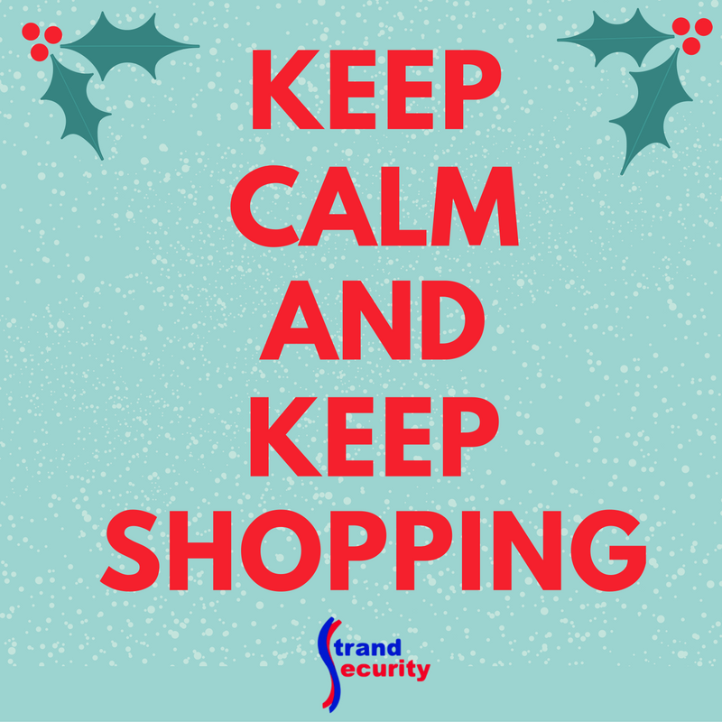 Keep Calm and Keep Shopping - Don't let Thieves steal your holiday packages!