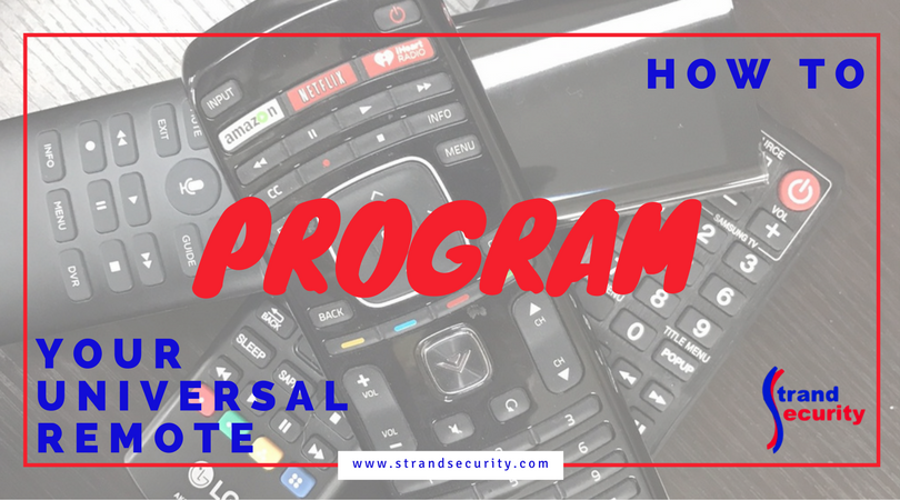 How to Program your universal remote the easy way, Myrtle Beach!