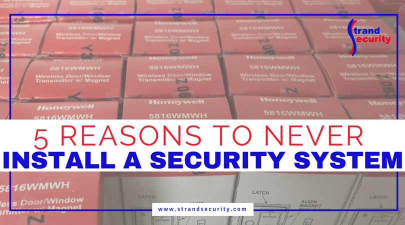 5 reasons to never install a security system in Myrtle Beach