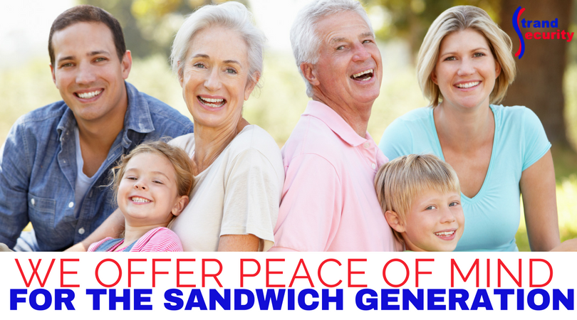 We help the Sandwich Generation take care of aging paretns and families