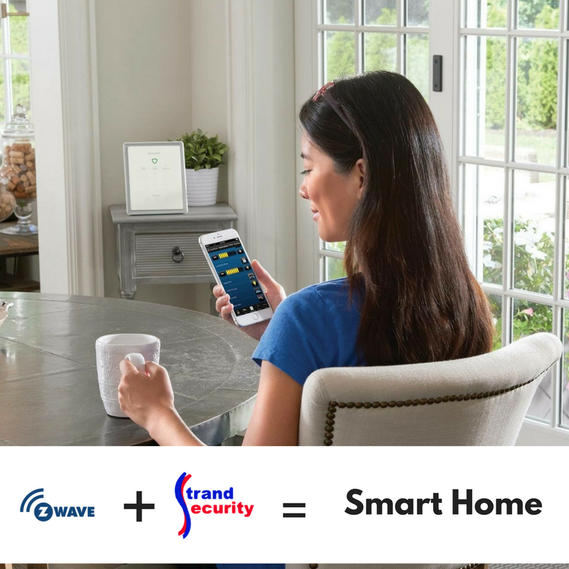 Zwave and strand security will make your old home into a smart home