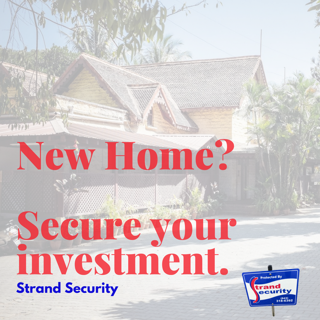 New Home in Myrtle Beach? Secure your investment.