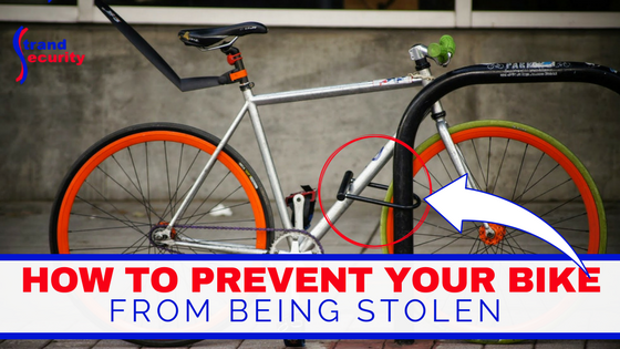 How to prevent your bike from being stolen