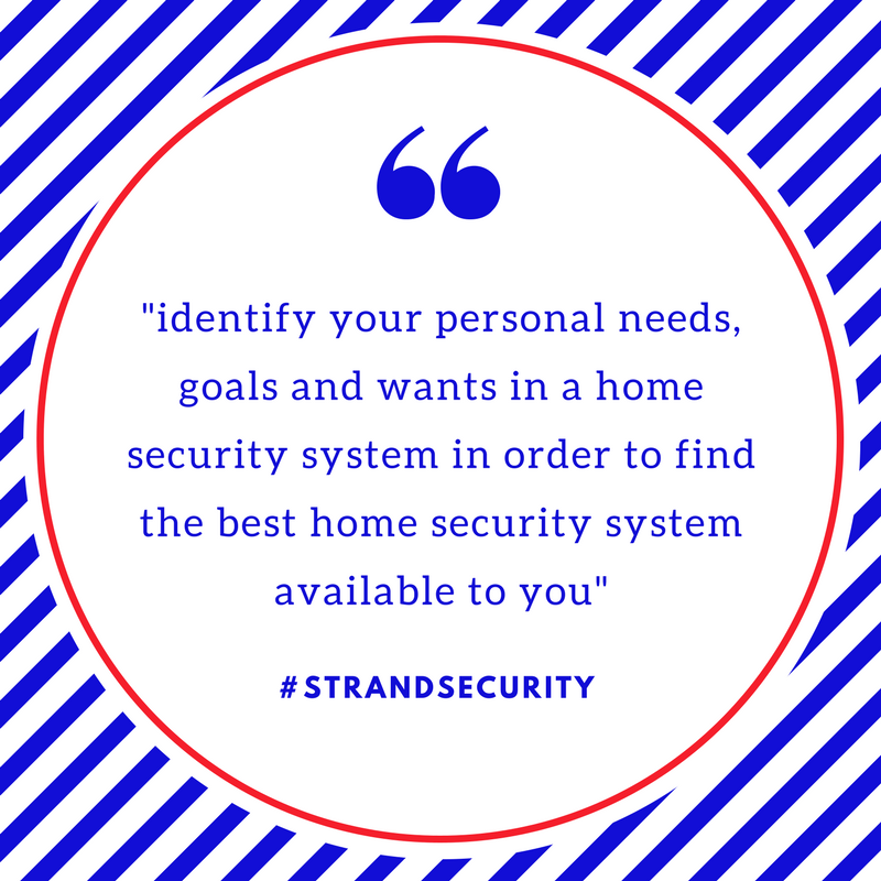 best home security system available to you